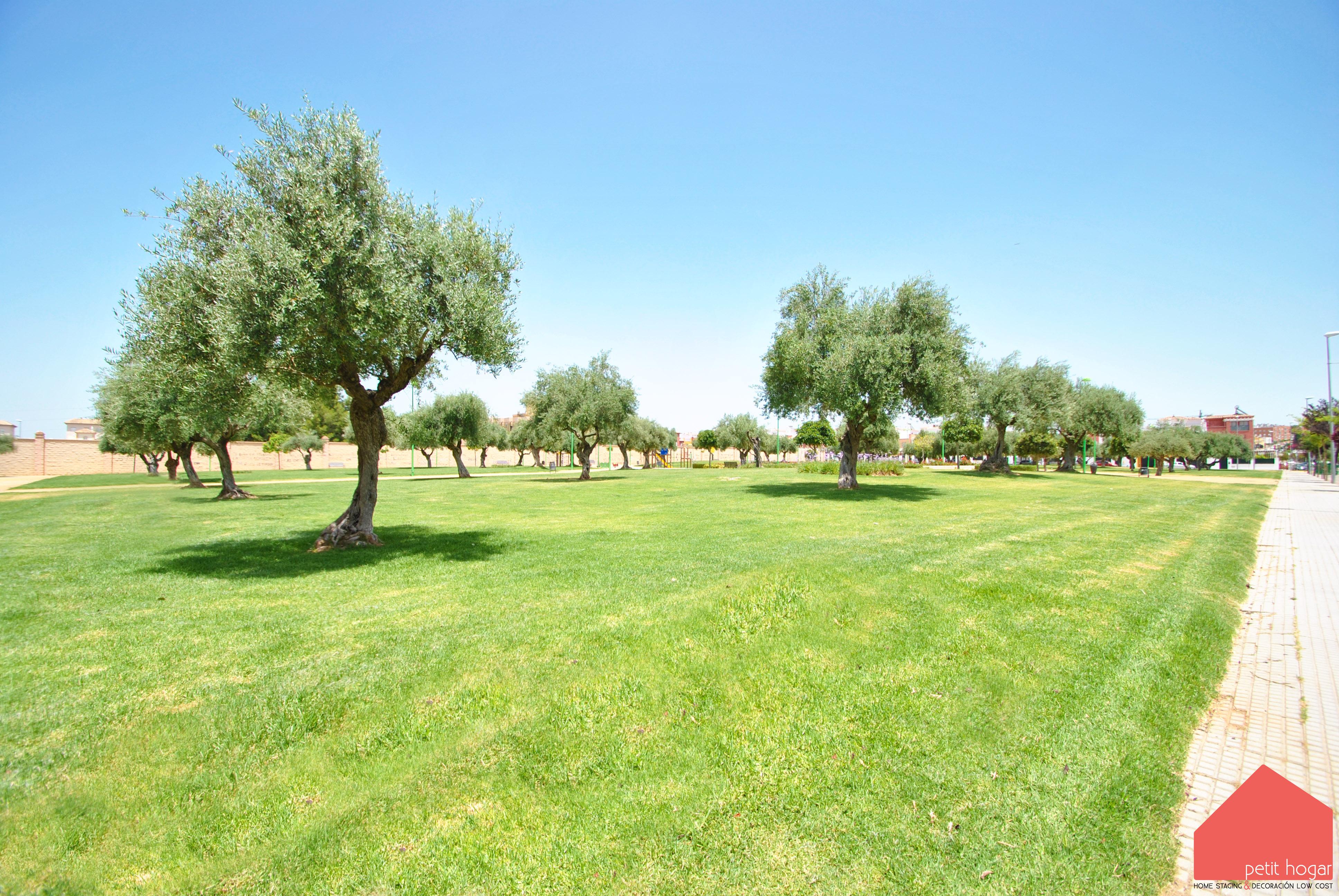 Entorno con parques cercanos