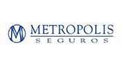 Logo aseguradora Metropolis Seguros