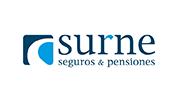 Logo aseguradora Surne, seguros y pensiones